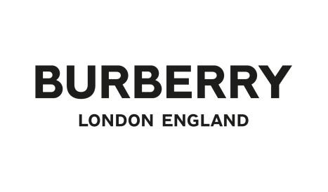 Logo mới của hãng mốt Anh.
