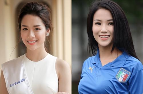 Bản sao của các mỹ nhân showbiz tại chung kết Hoa hậu Việt Nam - 2