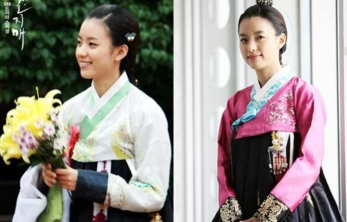 Han Hyo Joo nổi bật khi diện hanbok truyền thống - 1