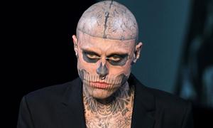 Rick Genest - người mẫu vô gia cư với 176 hình xăm trên cơ thể