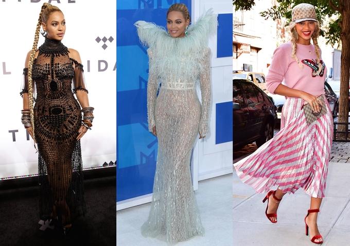 Phong cách của Beyonce biến đổi qua 21 năm