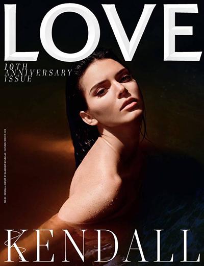 Kendall Jenner khỏa thân trên bìa tạp chí