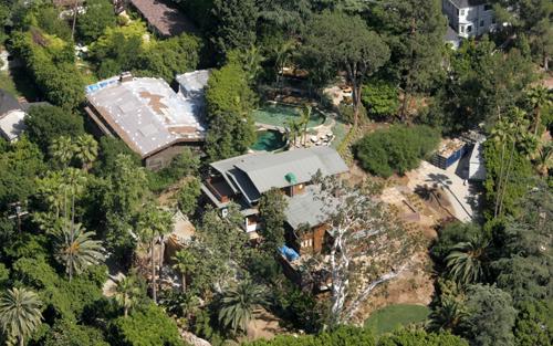Biệt thự tại Los Angeles của Brad Pitt.