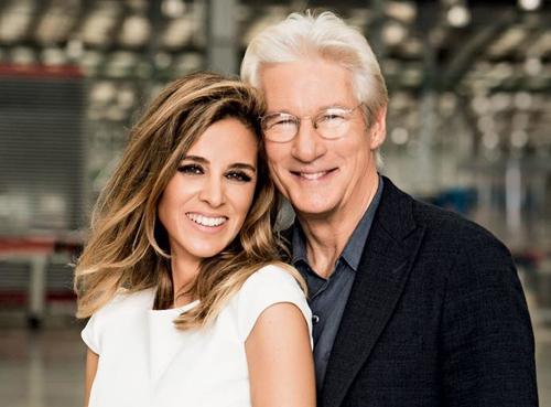 Richard Gere và vợ, Alejandra Silva.