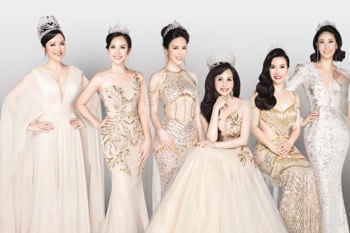 Các người đẹp đời đầu của Hoa hậu Việt Nam.