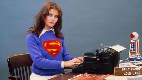 Margot Kidder khi quảng bá cho phim Superman.