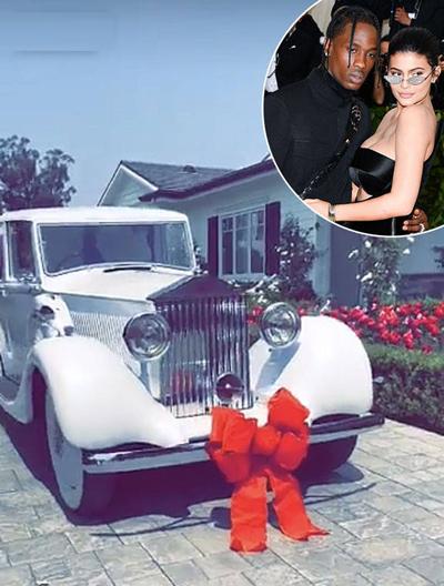 Món quà sinh nhật Travis Scott tặng Kylie Jenner.