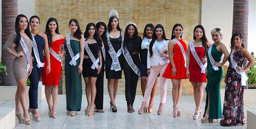 Thí sinh Hoa hậu Hoàn vũ Guam gây bàn tán vì quá béo - ảnh 9