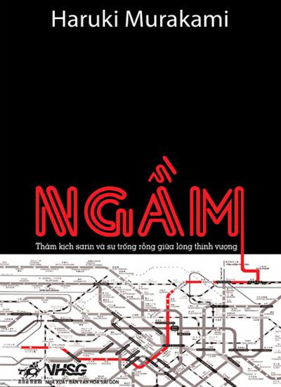 Bìa cuốn Ngầm của Murakami từng được dịch sang tiếng Việt.
