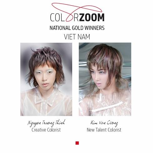 Goldwell công bố giải vàng tạo mẫu tóc Color Zoom 2018 - 1