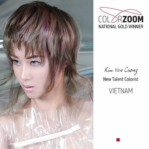 Goldwell công bố giải vàng tạo mẫu tóc Color Zoom 2018 - 2