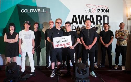 Goldwell công bố giải vàng tạo mẫu tóc Color Zoom 2018