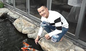 Biệt thự ven hồ, rộng 315 m2 của Cao Thái Sơn