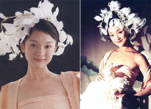 Năm 1994, qua một bức ảnh bìa tạp chí, đạo diễn Tạ Diên mời Châu Tấn đóng Nữ Nhi Hồng.