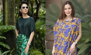 Mỹ nhân Việt chưng diện với váy hoa của Đỗ Mạnh Cường