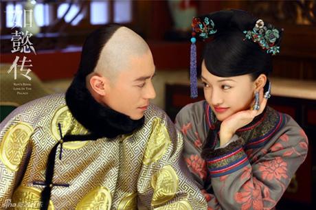 Châu Tấn và Hoắc Kiến Hoa trong Như Ý truyện.