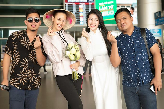 Hoa hậu Hoàn vũ Philippines 2018 đến Việt Nam