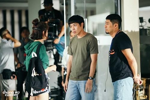Chàng vợ của em là lần thứ tám Charlie Nguyễn (phải) hợp tác cùng Thái Hòa.
