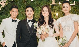 Dàn sao dự tiệc cưới người mẫu Tuyết Lan