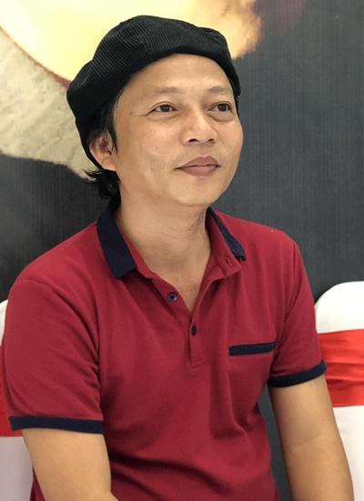 Trần Quế Sơn trong buổi họp báo ra mắt liveshow ngày 19/8.