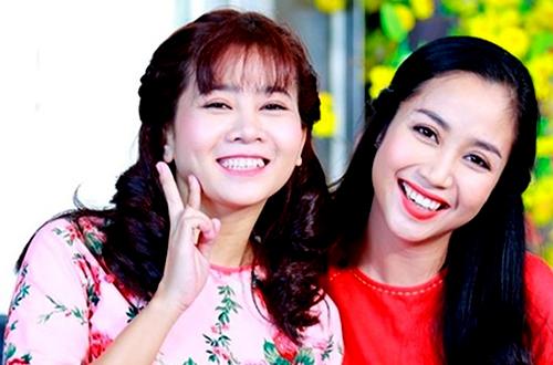 Ốc Thanh Vân (phải)là người mà Mai Phương tin tưởng nhờ giúp đỡ về việc cập nhật bệnh tình của cô với khán giả.