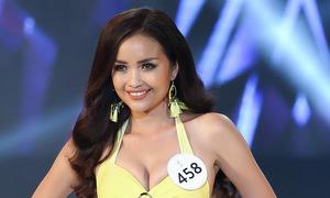 Thí sinh Hoa hậu Siêu quốc gia Việt Nam diễn bikini