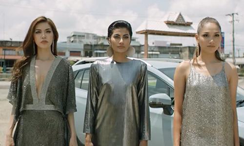 Minh Tú, Shikin và Monika.