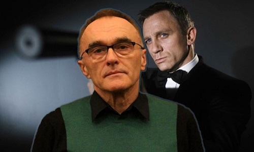 Danny Boyle (trái) rút lui khỏi phim mới về 007. Dự án tiếp theo của ông sẽ là một phim nhạc kịch có sự góp mặt của diễn viênLily James.