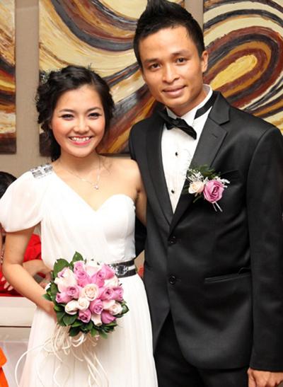 Năm 2011, Thanh Ngọc kết hôn với bác sĩ nha khoa Đức Thiệp  một bác sĩ nha khoa trong sự bất ngờ của công chúng. Cô thừa xuyên được ông xã đưa đi diễn. Người đẹp vẫn chưa sinh con.