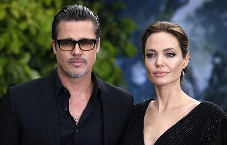 Brad Pitt và Angelina Jolie vẫn không thể chia tay trong hòa bình. Ảnh: PA.