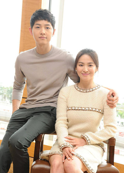 Đôi uyên ương Song Joong Ki - Song Hye Kyo.