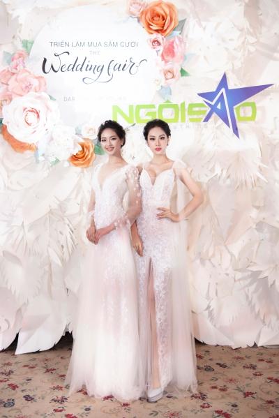 Lan Khuê diện váy cưới làm vedette - 7