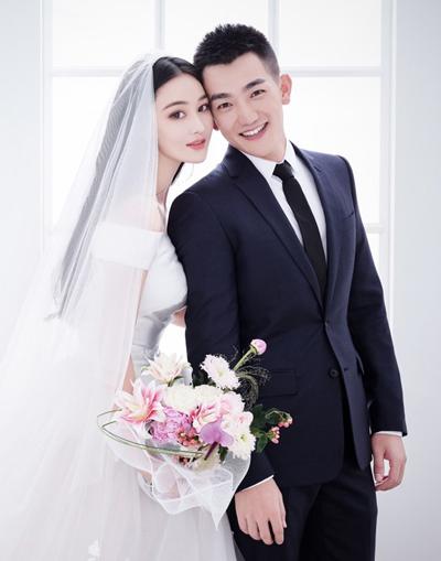 Ảnh cưới của Trương Hinh Dư - Hà Tiệp.