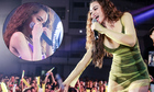 Hồ Ngọc Hà bật khóc khi được 3.000 khán giả cổ vũ