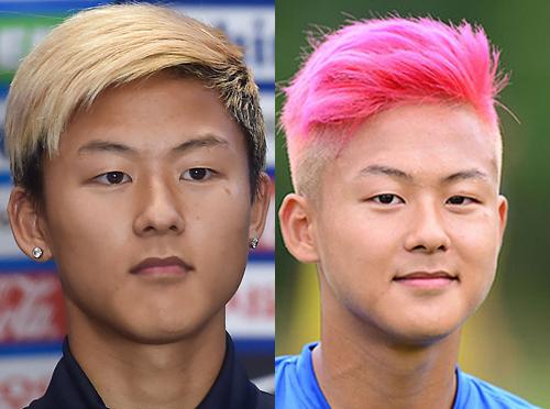 Lee Seung Woo có gương mặt đậm chất Hàn Quốc với đôi mắt một mí, môi mỏng. Anh trung thành với kiểu tóc undercut nhuộm màu nổi. Cầu thủ liên tục thay đổi màu tóc, từ nâu, vàng sáng, ánh kim cho đến hồng, đỏ.