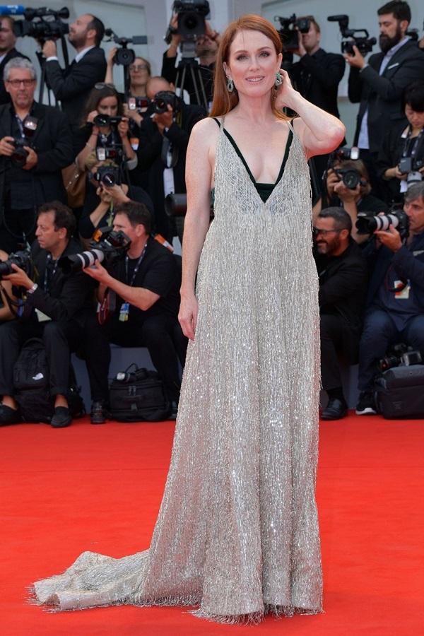 Những bộ đầm gợi cảm qua các liên hoan phim Venice