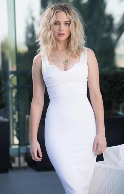 Jennifer Lawrence bị tung ảnh khỏa thân lên một trang web năm 2014.