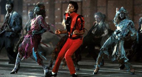 Album Thriller (ra mắt năm 1982) của Michael Jackson không chỉ thành công về doanh số bán chạy nhất thế giới với 47,3 triệu bản mà còn tạo ảnh hưởng với thị trường âm nhạc. Video ca nhạc có độ dài 14 phút, lập kỷ lục Guiness là video thành công nhất mọi thời và được đầu tư tới 500.000 USD - con số khổng lồ thời kỳ những năm 1980.