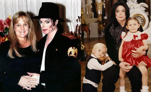 Năm 1996, danh ca làm đám cưới với Debbie Rowe. Họ có hai con - Prince Michael (sinh năm 1997), Paris Jackson (sinh năm 1998) - trước khi chia tay năm 1999. Cặp sao chưa bao giờ sống chung.