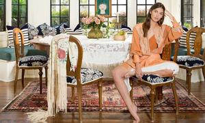 Nhà phong cách Anh lai Morocco của 'thiên thần' Victoria's Secret