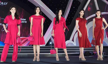 5 thiết kế Minh Tiệp đặt hàng  mua tặng vợ sau đêm thi thời trang của Hoa hậu Việt Nam 2018.