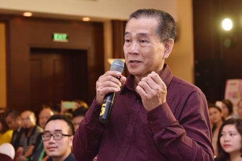 Ông Hiệp chia sẻ về việc gây dựng mái ấm Thiên Thần với gần 70 trẻ em mồ côi ở quận 9, TP HCM.