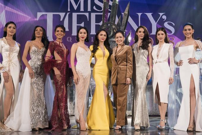 Hương Giang chấm thi hoa hậu chuyển giới ở Thái Lan