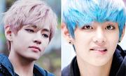 Ca sĩ Hàn 'đẹp trai nhất thế giới' biến hóa với tóc nhuộm