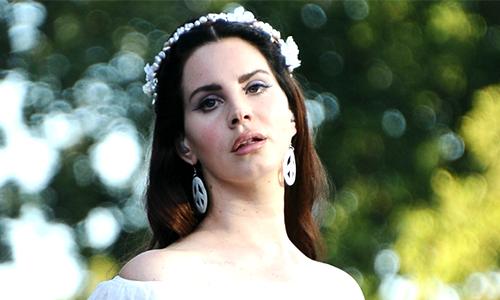 Ca sĩ Lana Del Rey. Ảnh: