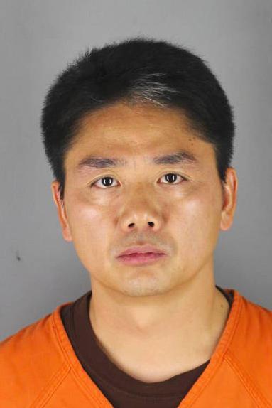 Hình ảnh Lưu Cường Đông do văn phòng cảnh sát trưởng Hennepin cung cấp sau khi ông này bị bắt. Ảnh: Hennepin County Sheriffs Office