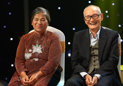 Vợ chồng nhạc sĩ Giao Tiên.