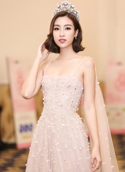 Hoa hậu Việt Nam 2016 Đỗ Mỹ Linh dự sự kiện chiều 6/9.