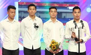U23 Việt Nam được vinh danh 'Nhân vật của năm' tại giải truyền hình