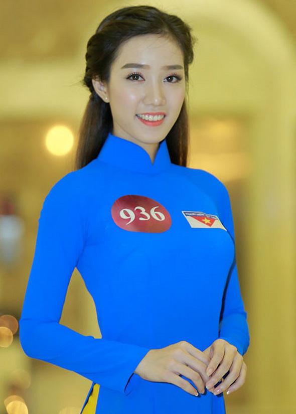 Cô gái có vòng eo 55 cm, nhẹ cân nhất Hoa hậu Việt Nam